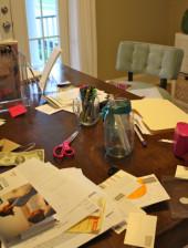 Messy Desk - Alesya Bags