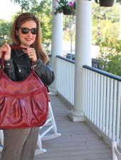 Alesya With First Alesya Bag
