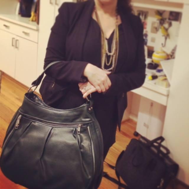 Women's Laptop Bags - Alesya Bags Technically Green