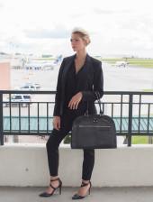 Alesya Bags Raven Work Satchel